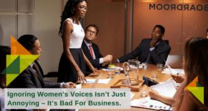 ignoring womens voices